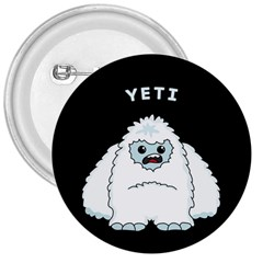 Yeti 3  Buttons by Valentinaart