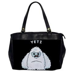 Yeti Office Handbags by Valentinaart
