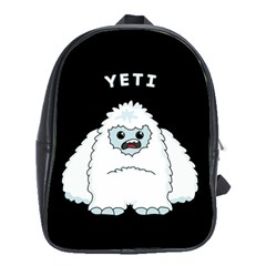 Yeti School Bag (xl) by Valentinaart