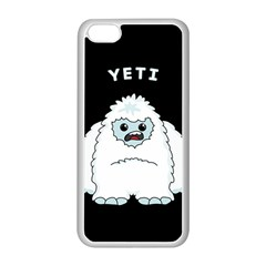 Yeti Apple Iphone 5c Seamless Case (white) by Valentinaart