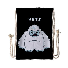 Yeti Drawstring Bag (small) by Valentinaart