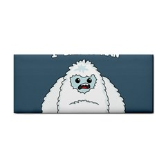 Yeti   I Saw A Man Cosmetic Storage Cases by Valentinaart