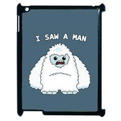Yeti   I Saw A Man Apple Ipad 2 Case (black) by Valentinaart