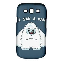 Yeti   I Saw A Man Samsung Galaxy S Iii Classic Hardshell Case (pc+silicone) by Valentinaart