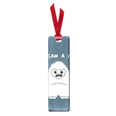 Yeti   I Saw A Man Small Book Marks by Valentinaart