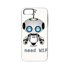 Cute Robot Apple Iphone 5 Classic Hardshell Case (pc+silicone) by Valentinaart