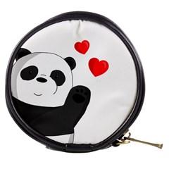 Cute Panda Mini Makeup Bags by Valentinaart