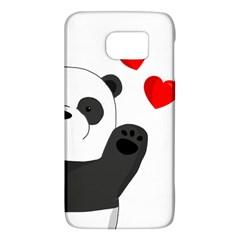 Cute Panda Galaxy S6 by Valentinaart