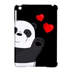 Cute Panda Apple Ipad Mini Hardshell Case (compatible With Smart Cover) by Valentinaart