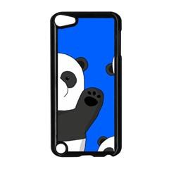 Cute Pandas Apple Ipod Touch 5 Case (black) by Valentinaart