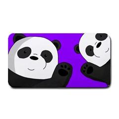Cute Pandas Medium Bar Mats by Valentinaart