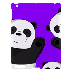 Cute Pandas Apple Ipad 3/4 Hardshell Case by Valentinaart