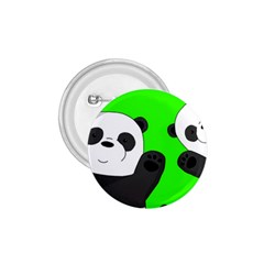 Cute Pandas 1 75  Buttons by Valentinaart