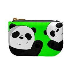 Cute Pandas Mini Coin Purses by Valentinaart