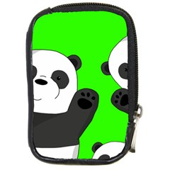 Cute Pandas Compact Camera Cases by Valentinaart