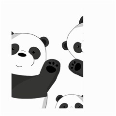 Cute Pandas Large Garden Flag (two Sides) by Valentinaart
