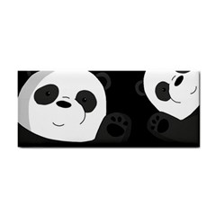 Cute Pandas Cosmetic Storage Cases by Valentinaart