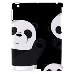 Cute Pandas Apple Ipad 3/4 Hardshell Case (compatible With Smart Cover) by Valentinaart