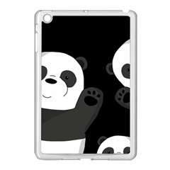 Cute Pandas Apple Ipad Mini Case (white) by Valentinaart
