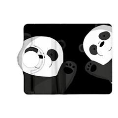 Cute Pandas Kindle Fire Hd (2013) Flip 360 Case by Valentinaart