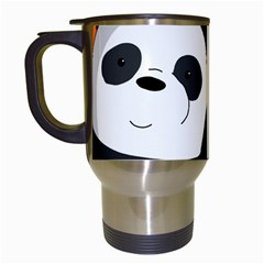 Cute Pandas Travel Mugs (white) by Valentinaart