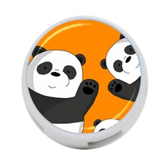 Cute Pandas 4 Port Usb Hub (one Side) by Valentinaart