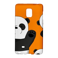 Cute Pandas Galaxy Note Edge by Valentinaart