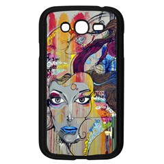 Graffiti Mural Street Art Painting Samsung Galaxy Grand Duos I9082 Case (black) by BangZart