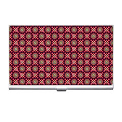 Kaleidoscope Seamless Pattern Business Card Holders by BangZart