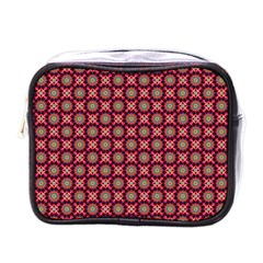 Kaleidoscope Seamless Pattern Mini Toiletries Bags by BangZart