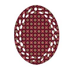 Kaleidoscope Seamless Pattern Ornament (oval Filigree) by BangZart