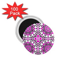 Oriental Pattern 1 75  Magnets (100 Pack)  by BangZart