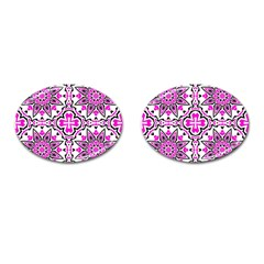 Oriental Pattern Cufflinks (oval) by BangZart