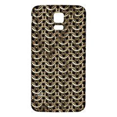 Sparkling Metal Chains 01a Samsung Galaxy S5 Back Case (white) by MoreColorsinLife