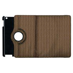 Sparkling Metal Chains 03b Apple Ipad 2 Flip 360 Case by MoreColorsinLife