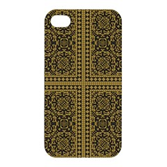 Seamless Pattern Design Texture Apple Iphone 4/4s Premium Hardshell Case by BangZart