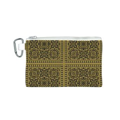 Seamless Pattern Design Texture Canvas Cosmetic Bag (s) by BangZart
