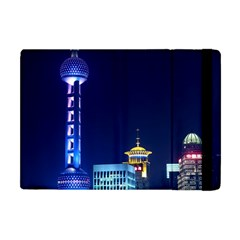 Shanghai Oriental Pearl Tv Tower Apple Ipad Mini Flip Case