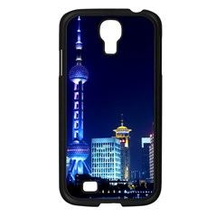 Shanghai Oriental Pearl Tv Tower Samsung Galaxy S4 I9500/ I9505 Case (black) by BangZart