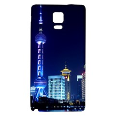 Shanghai Oriental Pearl Tv Tower Galaxy Note 4 Back Case by BangZart