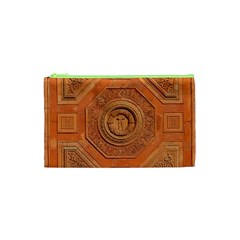 Symbolism Paneling Oriental Ornament Pattern Cosmetic Bag (xs) by BangZart