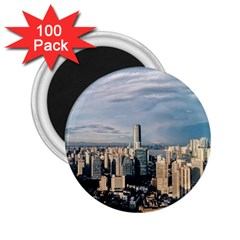 Shanghai The Window Sunny Days City 2 25  Magnets (100 Pack)  by BangZart