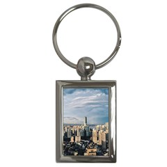 Shanghai The Window Sunny Days City Key Chains (rectangle)  by BangZart