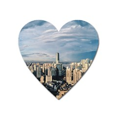 Shanghai The Window Sunny Days City Heart Magnet by BangZart