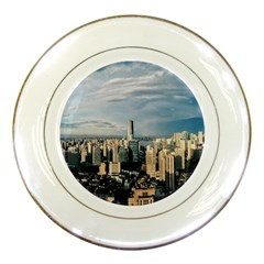 Shanghai The Window Sunny Days City Porcelain Plates by BangZart