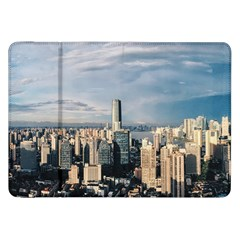 Shanghai The Window Sunny Days City Samsung Galaxy Tab 8 9  P7300 Flip Case by BangZart