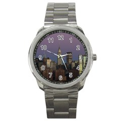 Skyline City Manhattan New York Sport Metal Watch by BangZart