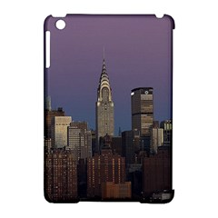 Skyline City Manhattan New York Apple Ipad Mini Hardshell Case (compatible With Smart Cover) by BangZart