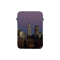 Skyline City Manhattan New York Apple Ipad Mini Protective Soft Cases by BangZart