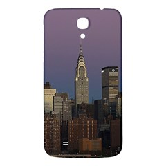 Skyline City Manhattan New York Samsung Galaxy Mega I9200 Hardshell Back Case by BangZart